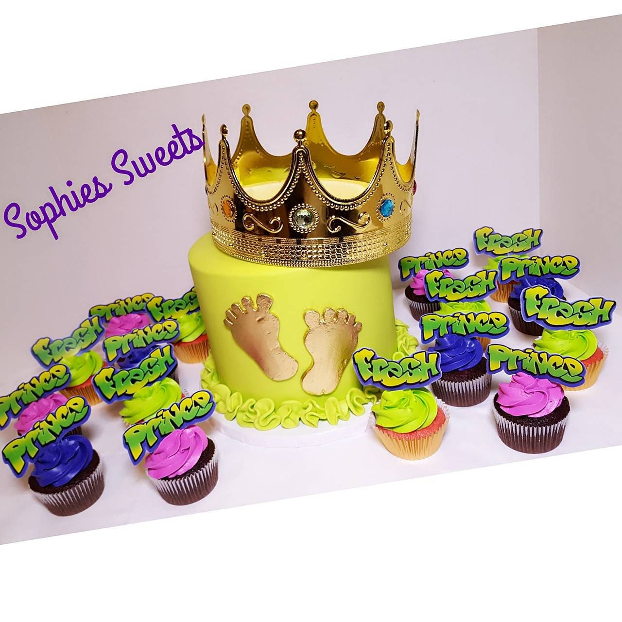 Fresh Prince Cupcake Toppers, Fresh Prince Baby Shower, Fresh Prince ...