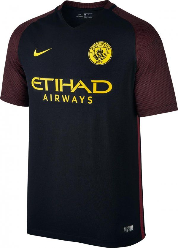 Resultado de imagem para Manchester city segundo uniforme 2016/17
