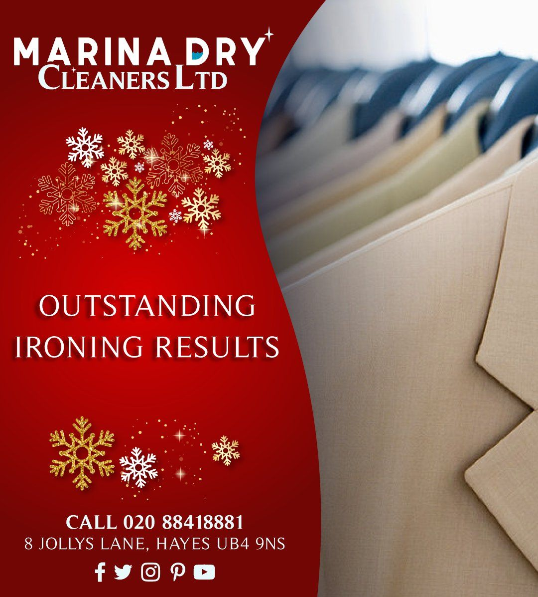 Outstanding Ironing Results Call Us On 020 8841 8881 Dry