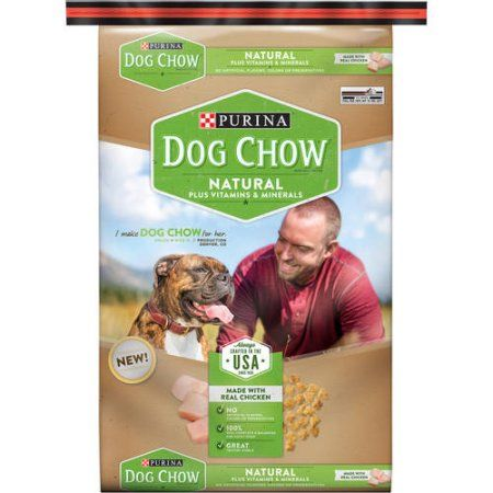 Purina Dog Chow Natural High Protein Dry Dog Food Natural 32 Lb Bag Walmart Com Purina Dog Chow Dog Food Recipes Dry Dog Food