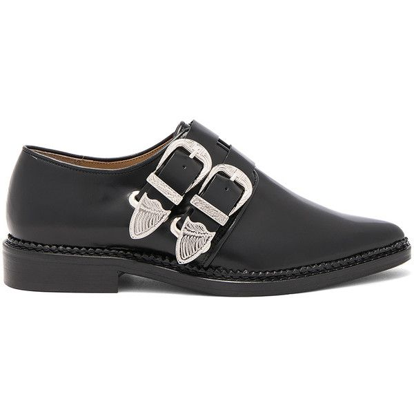Clearance Good Selling TOGA PULLA Women's Polido Double Buckle Flats For Sale Sale Online KRt1B