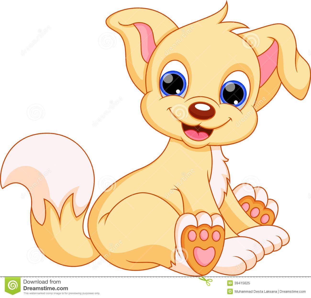 Pin By Gowri Maharajan On Puppy Dogs Cute Dog Cartoon Puppy Cartoon Cute Dog Wallpaper