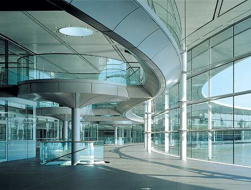Mclaren Offices Woking Woking Architecture House Styles