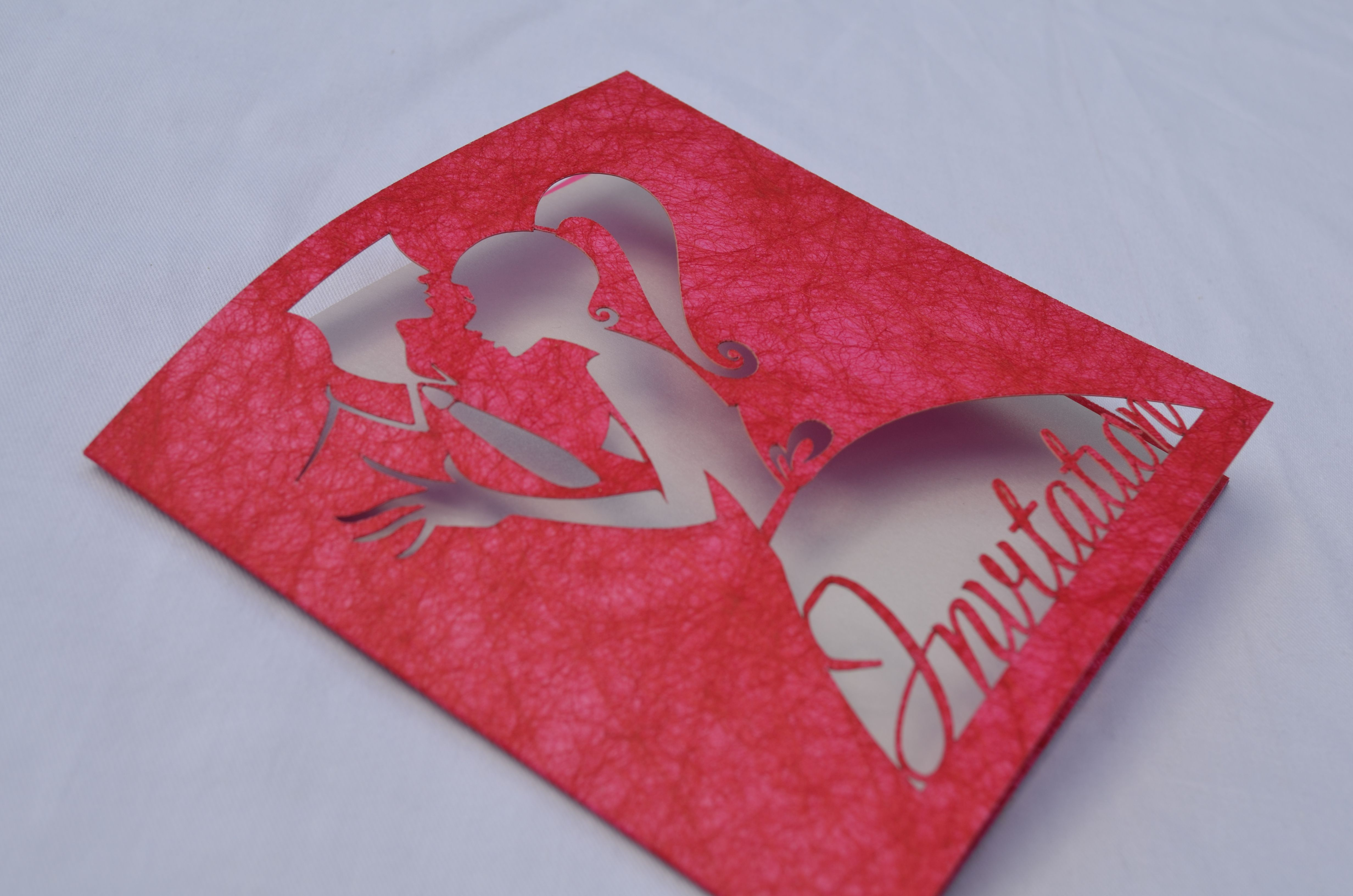 wedding invitation by infinity laser cutting. new designs being ...