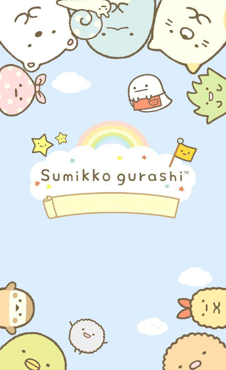 Sumikko gurashi summiko guarashi in 2019 - Cute asian cartoon wallpaper ...