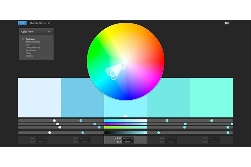 Color Adobe Cc Https Color Adobe Com De Create Color Wheel Color