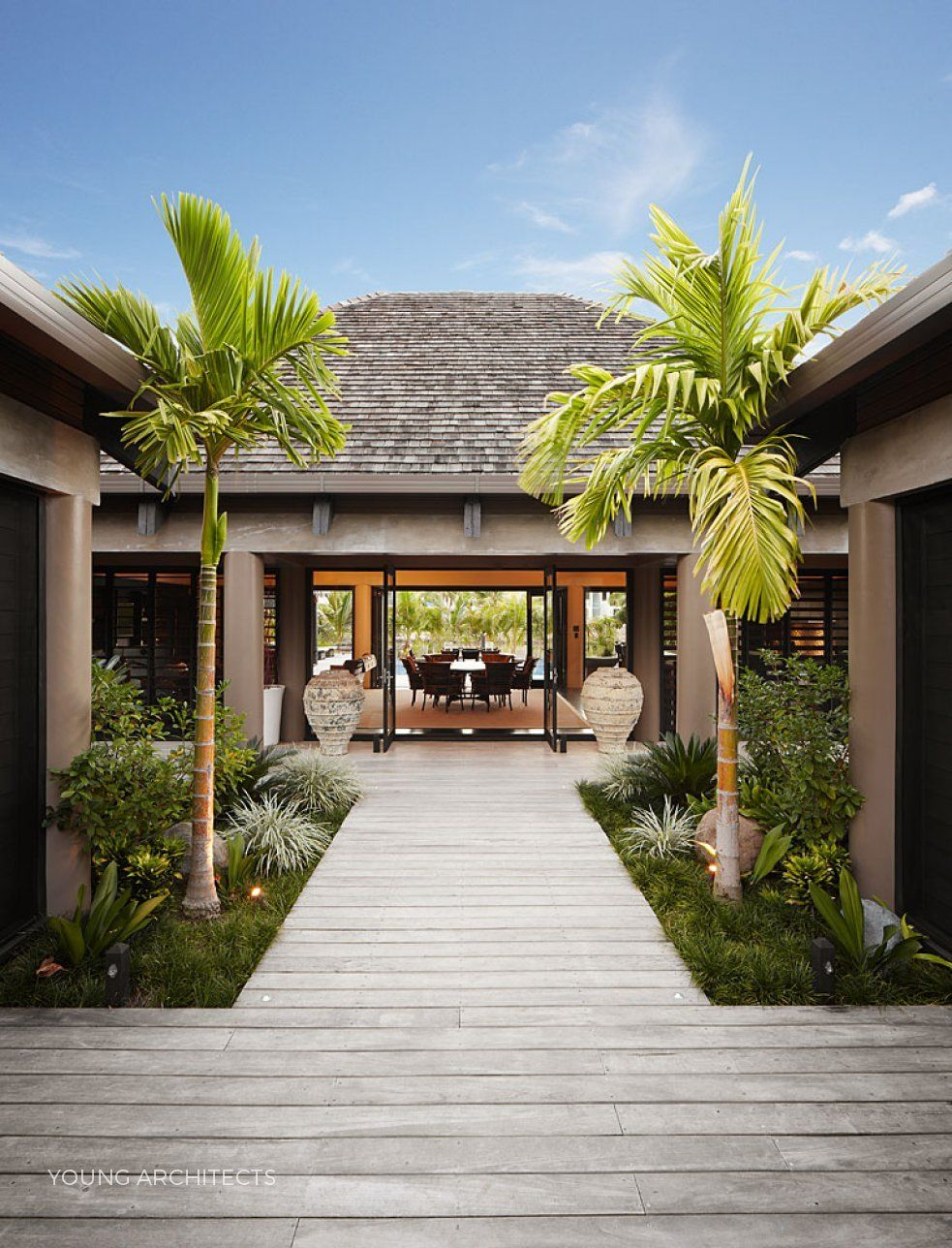 Marina Point Fiji By Young Architects Bali House Tropical Beach Houses Tropical House Design