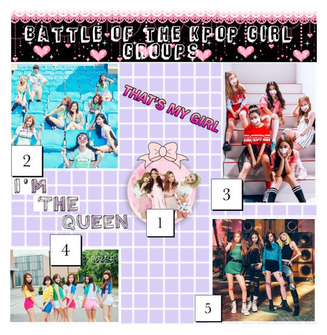 Battle of The K-pop Girl Group Audition | Polyvore