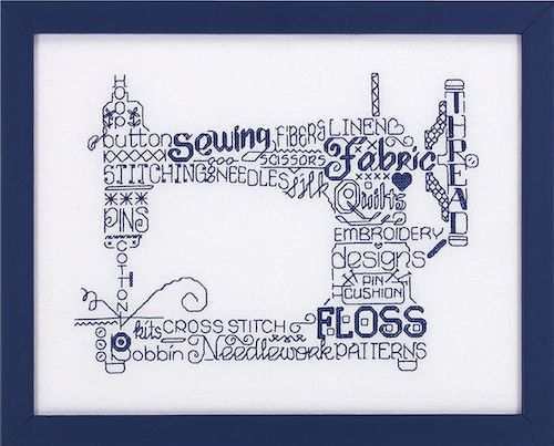 LET'S SEW Imaginating Cross Stitch Pattern by TheAngelsNook