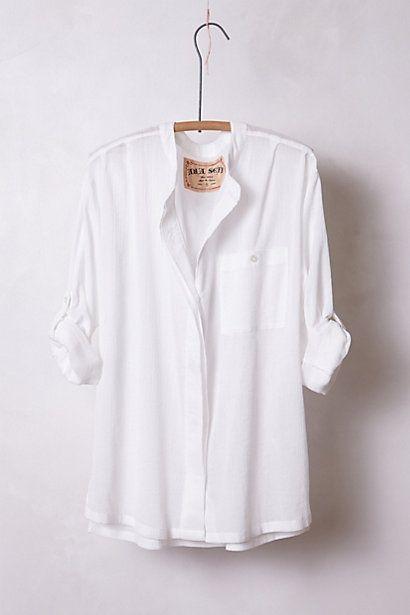 a18bfa0a love Blouse Outfit, Classic White, White Shirts, White Button Down Shirt,  Chic