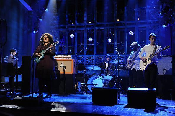 Saturday Night Live: Alabama Shakes [Photo Credit: ©2013/Dana Edelson/NBC]