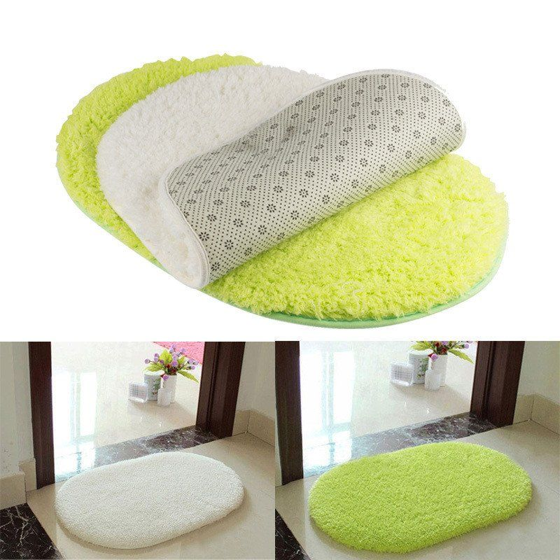 1pcs 40 60cm Bathroom Carpets Absorbent Soft Memory Foam Doormat