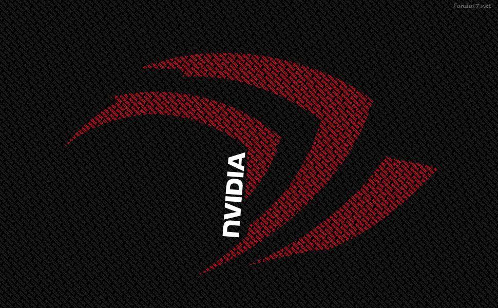 Red Nvidia Hd Wallpaper Computer Wallpaper Red Wallpaper Nvidia