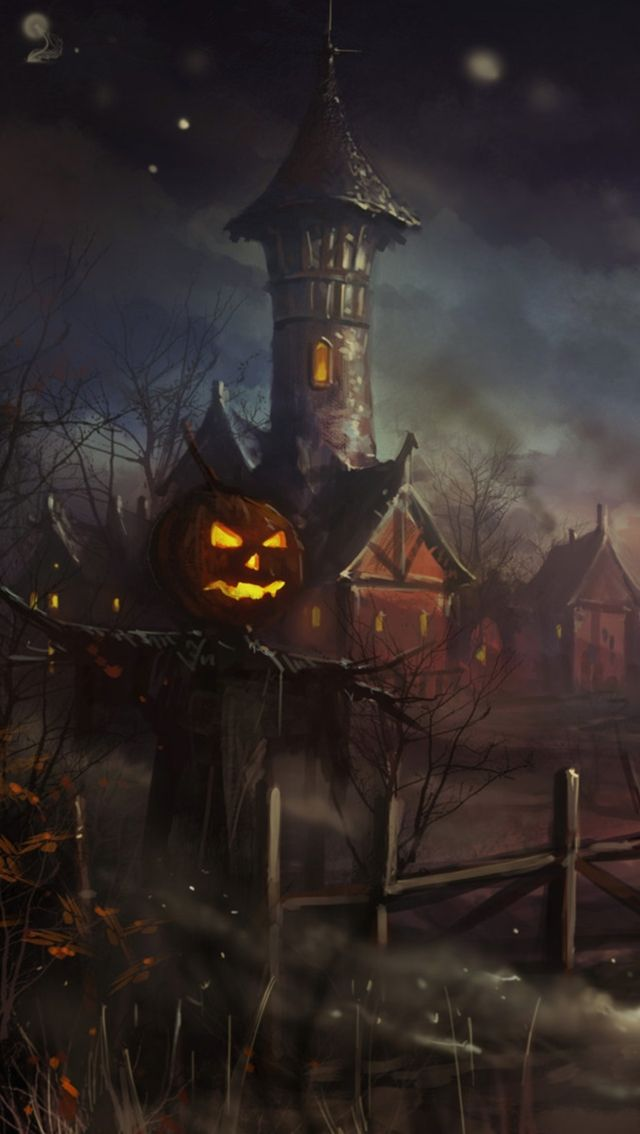 Apple halloween iphone wallpaper sentimental halloween - Scary wallpaper iphone ...