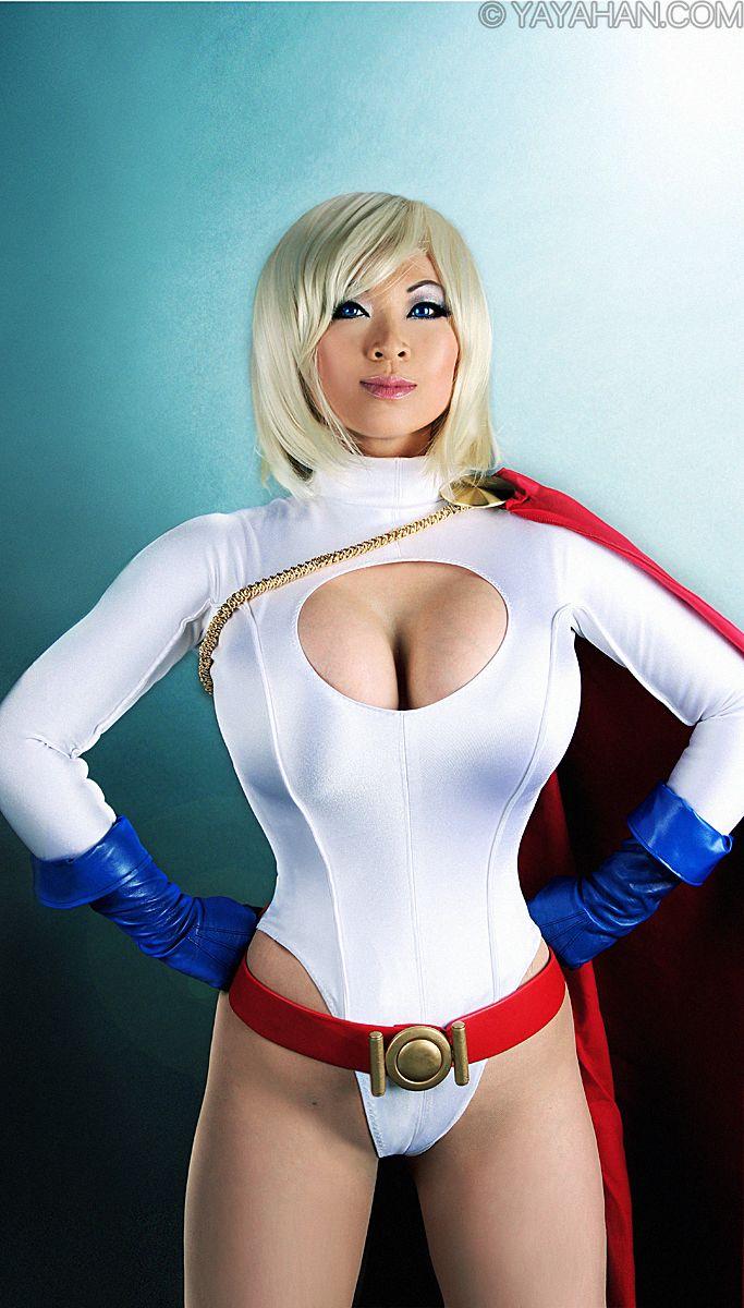 cosplay Power girl