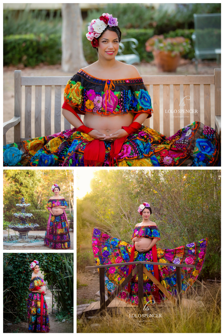 45b6101f719af Mexican inspired maternity photos | Modern Mexican Maternity Photo ...