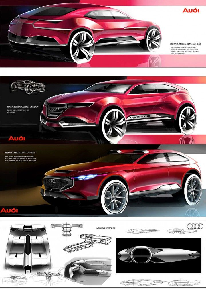 Daily Sketch: Audi Q6 by Sangwon Jo  more sketches: http://www.carbodydesign.com/featured-design-sketches/?utm_content=buffer52e55&utm_medium=social&utm_source=pinterest.com&utm_campaign=buffer  Sangwon's work: https://www.behance.net/sang-won?utm_content=buffer5a744&utm_medium=social&utm_source=pinterest.com&utm_campaign=buffer