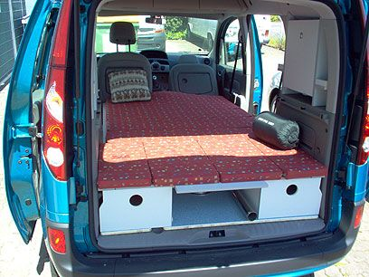 c tech campingvan minicamper renault kangoo camper camping build trailer pinterest. Black Bedroom Furniture Sets. Home Design Ideas