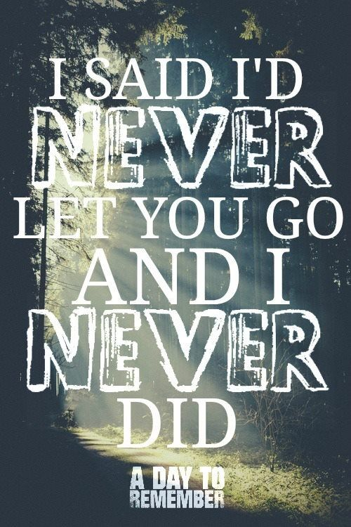 Have Faith In Me A Day To Remember Band Quotes A Day To