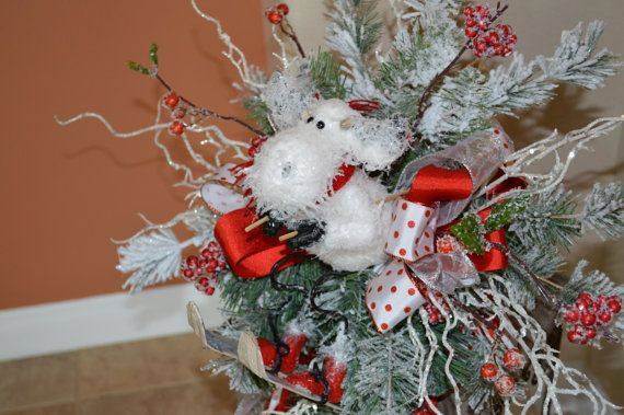 Tree Topper Christmas Tree Topper Moose Tree By Thebloomingwreath