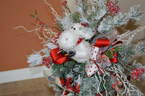 Tree Topper Christmas Tree Topper Moose Tree by TheBloomingWreath - Tree Topper Christmas Tree Topper Moose Tree By TheBloomingWreath
