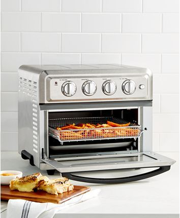 Cuisinart Toa 60 Air Fryer Toaster Oven Reviews Small Appliances Kitchen Macy S In 2020 Toaster Oven Toaster Oven Reviews Small Kitchen Appliances