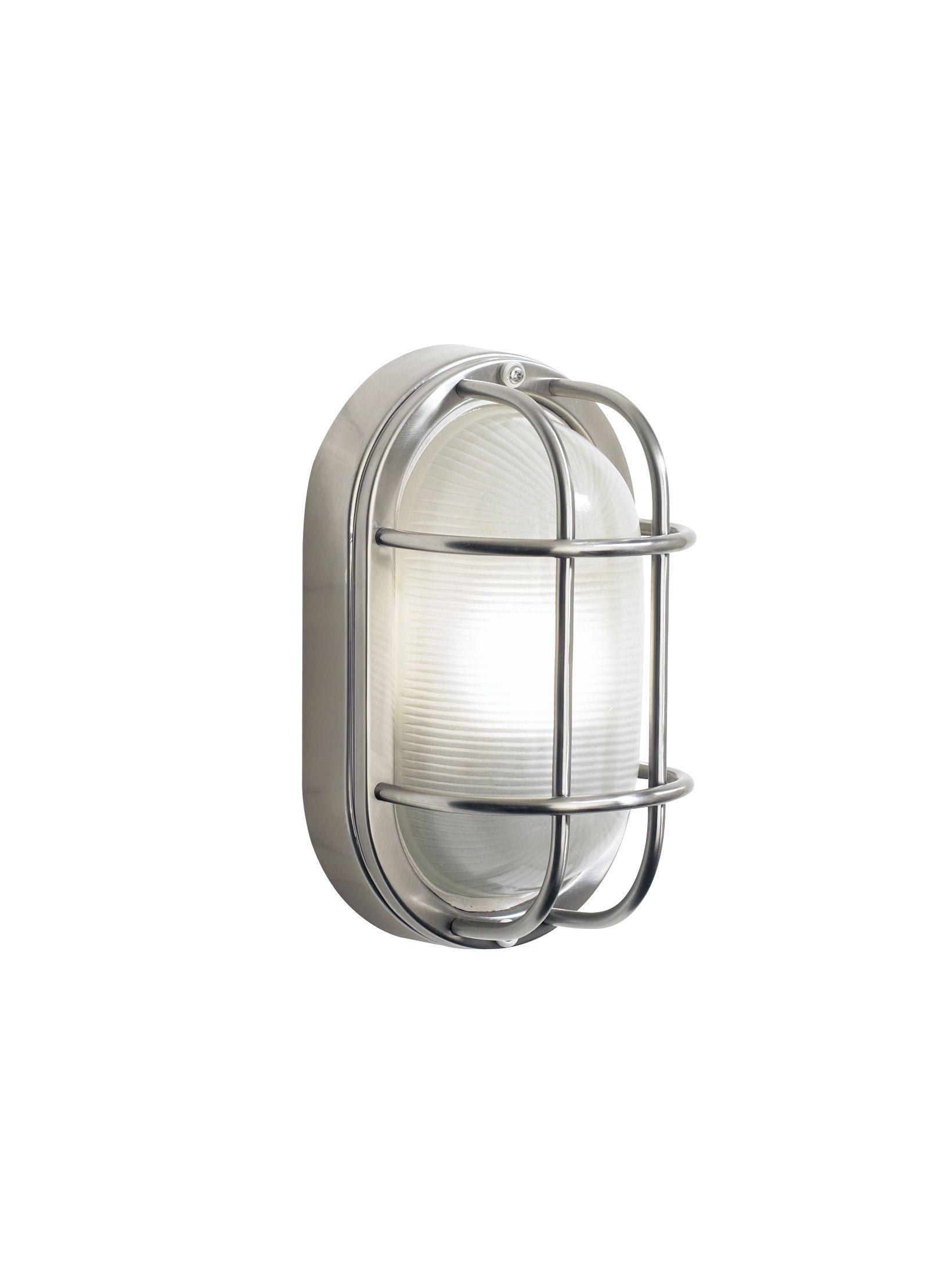 Durable Outdoor Bulkhead Oval Wall Light Wall Lights Garden Wall Lights Outdoor Wall Lighting