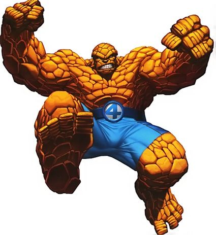 thing clip art thing from fantastic four wesomeness rh pinterest co uk
