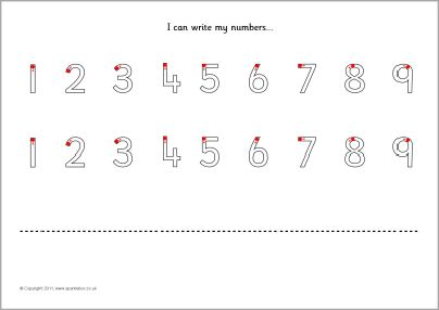 number formation practise sheets sb485 sparklebox homeschooling number formation. Black Bedroom Furniture Sets. Home Design Ideas