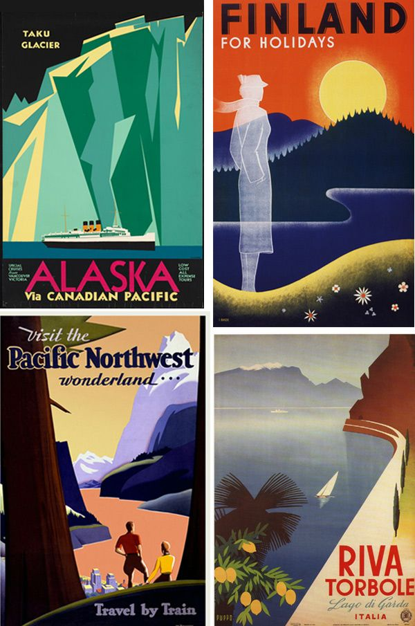 How To Design A Vintage Travel Poster In Adobe Illustrator And Photoshop Illustrator Tutorials Illustration Design Poster Tutorial