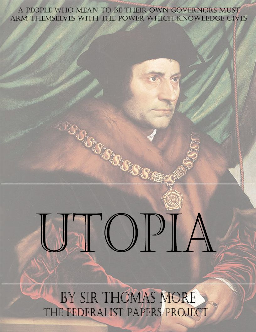 a comparison of platos republic and thomas mores utopia in their concept of society Christopher bobonich's plato's utopia recast is a helpful  the tension between their own practice and society use several  thomas pangle is among.