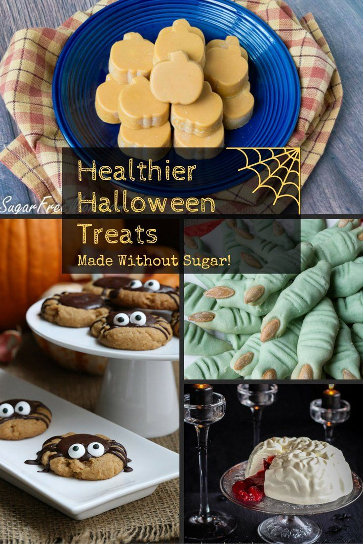 13 Healthier Halloween Treats Made without Sugar!