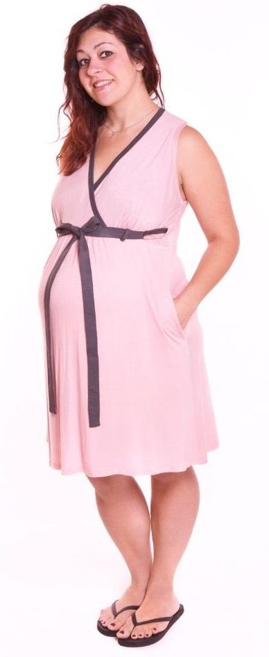 Blush Delivery Birthing Gown - Stella Maternity   maternity wear ...