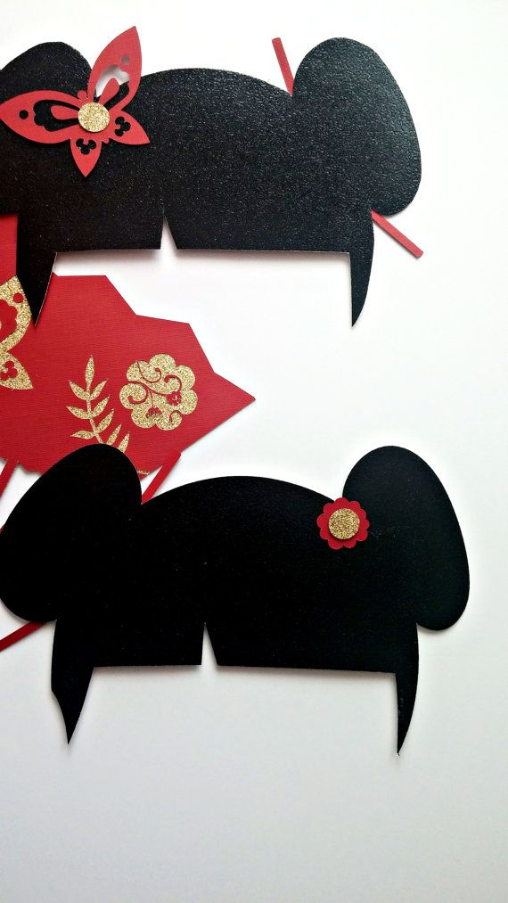 asian inspired photo props chinese new by republicofparty on etsy