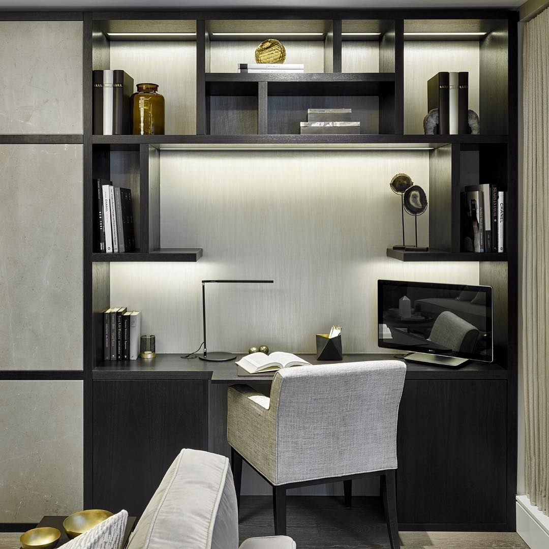 Study Corner In The Living Room Interiorarchitecture