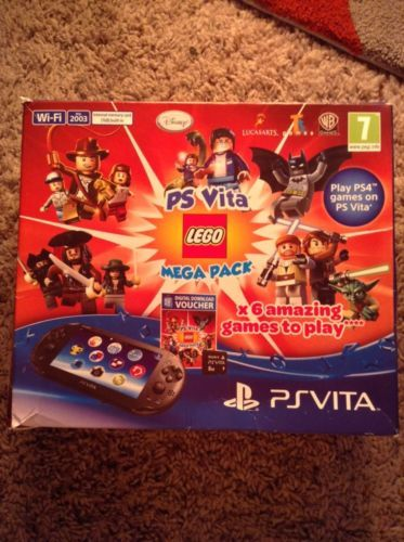 Black sony psvita lego mega pack wifi boxed with manuals  https://t.co/38lai4H5W6 https://t.co/XwTywYPGOd
