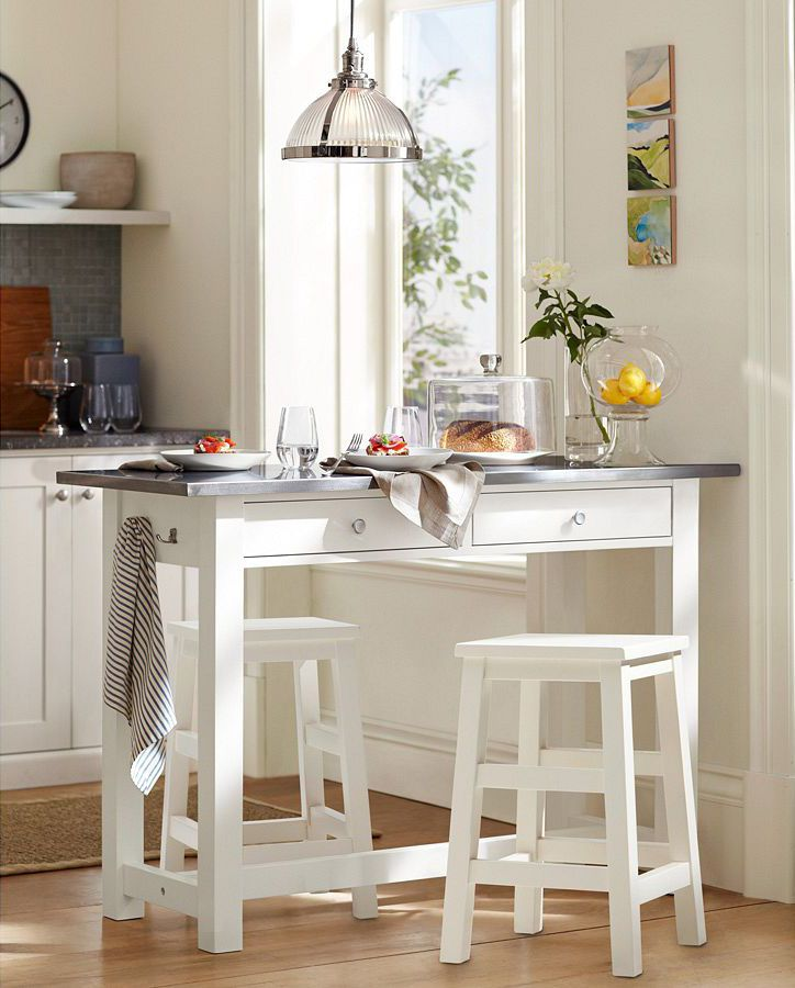 How to choose a kitchen table interview with susan serra - Small kitchen island table ...