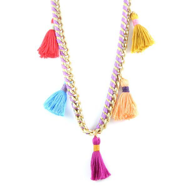 Vintage Cirque Du Chic Necklace #ettika #boho #jewelry #gypsy #hippie