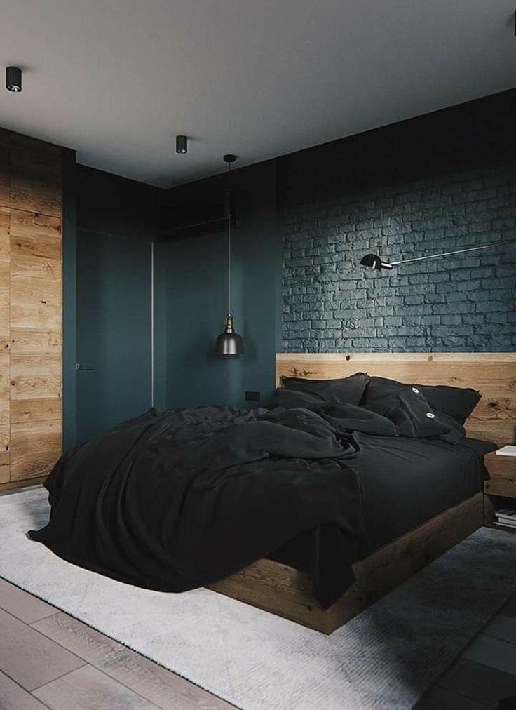 30+ Fantastic Industrial Bedroom Design Ideas #decorationequipment