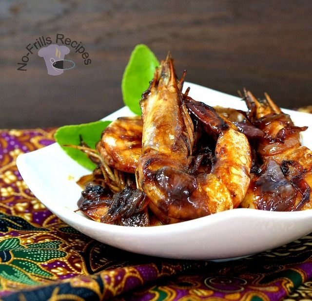 Assam prawns dishes malaysian food and dinners assam prawns is a popular malaysian dish which is not difficult to whip up the forumfinder Choice Image