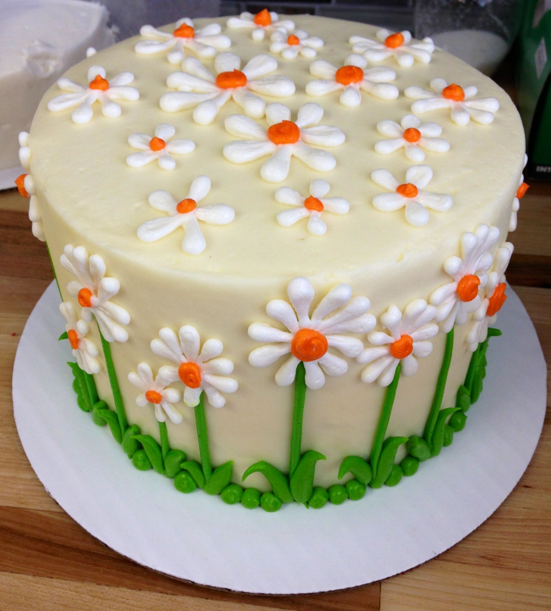 Daisy Flower Cake Birthday Cakes Pinterest Cake And Birthday Cakes