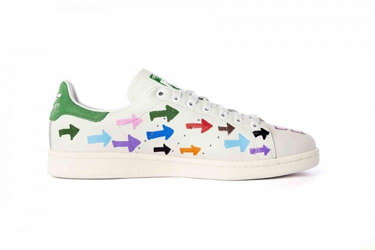 Adidas Stan Smith costumbre idées par Pharrell Williams Colette