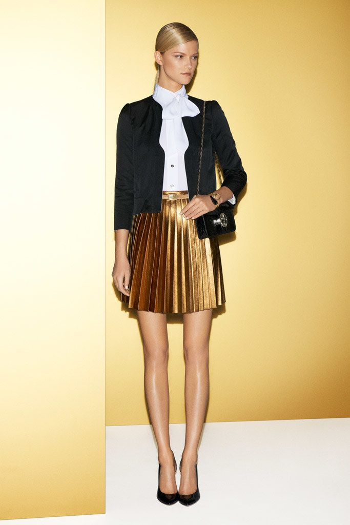 Gucci Resort 2012 Fashion Show - Kasia Struss