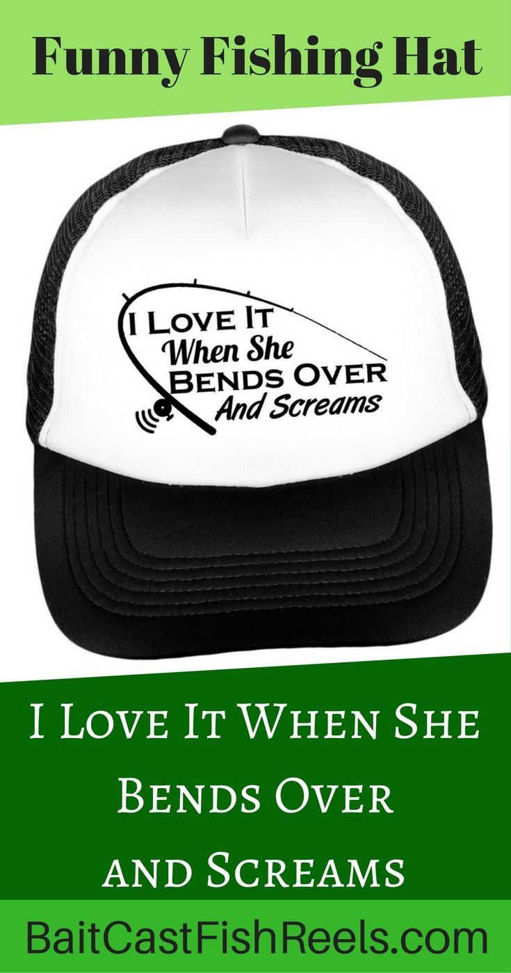 162cdd74b3a Funny Fishing Trucker Hat for the fisherman in your life. Fishing humor.