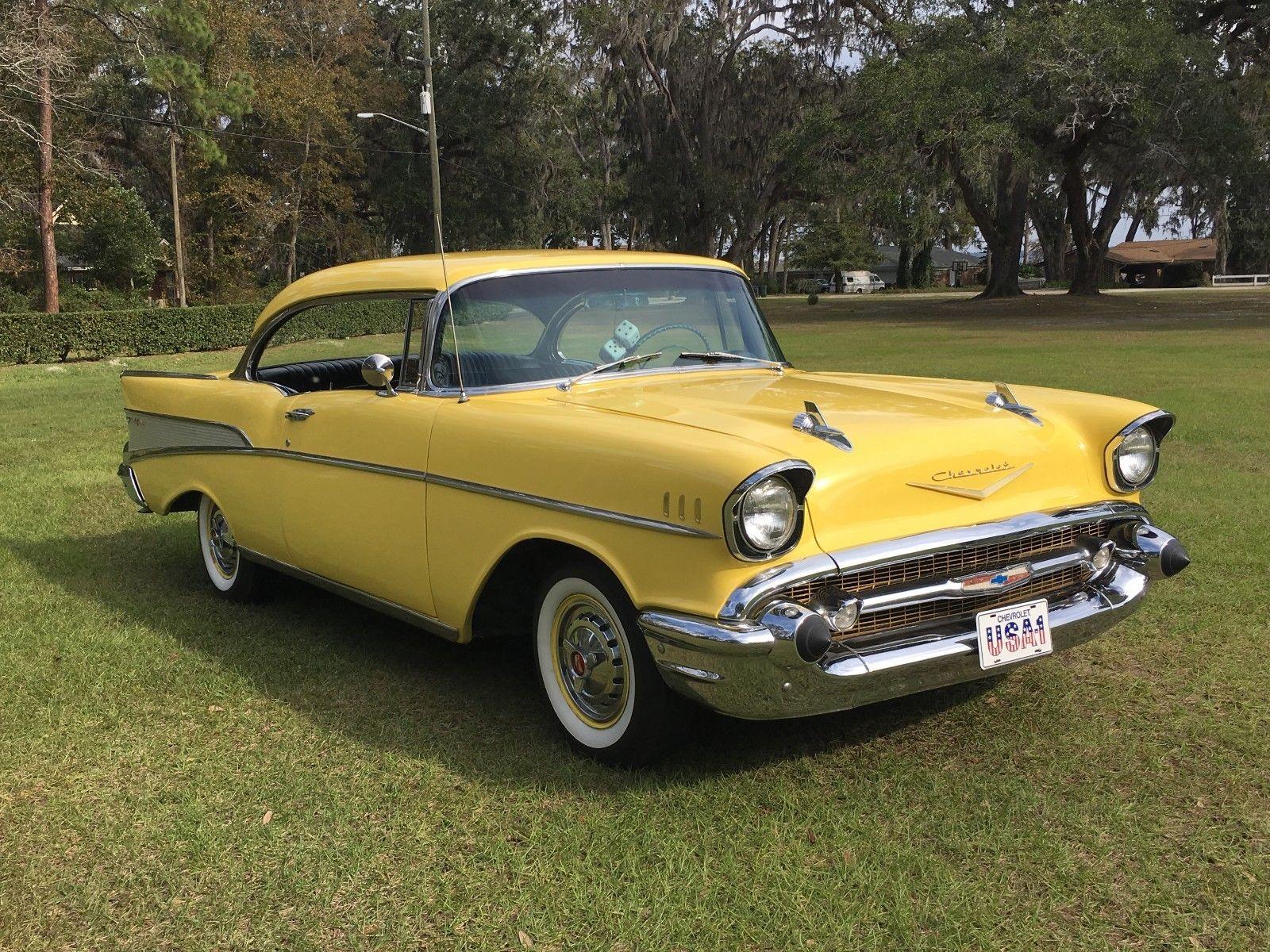 Awesome Great 1957 Chevrolet Bel Air 150 210 2 Door Hardtop