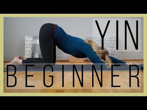 beginner yin yoga 60 min  why we stress our joints in yin