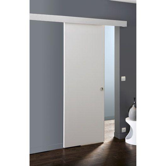 ensemble porte coulissante isoplane avec le rail salsa en acier porte wc. Black Bedroom Furniture Sets. Home Design Ideas