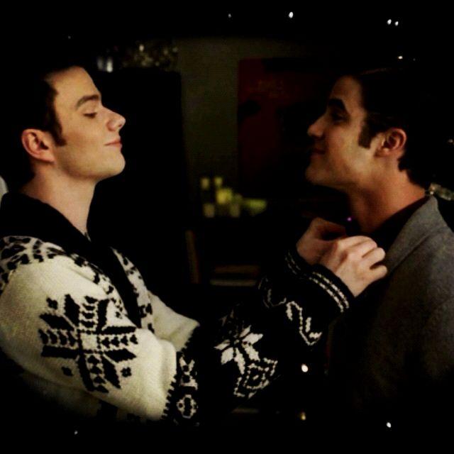 Kurt and Blaine Christmas