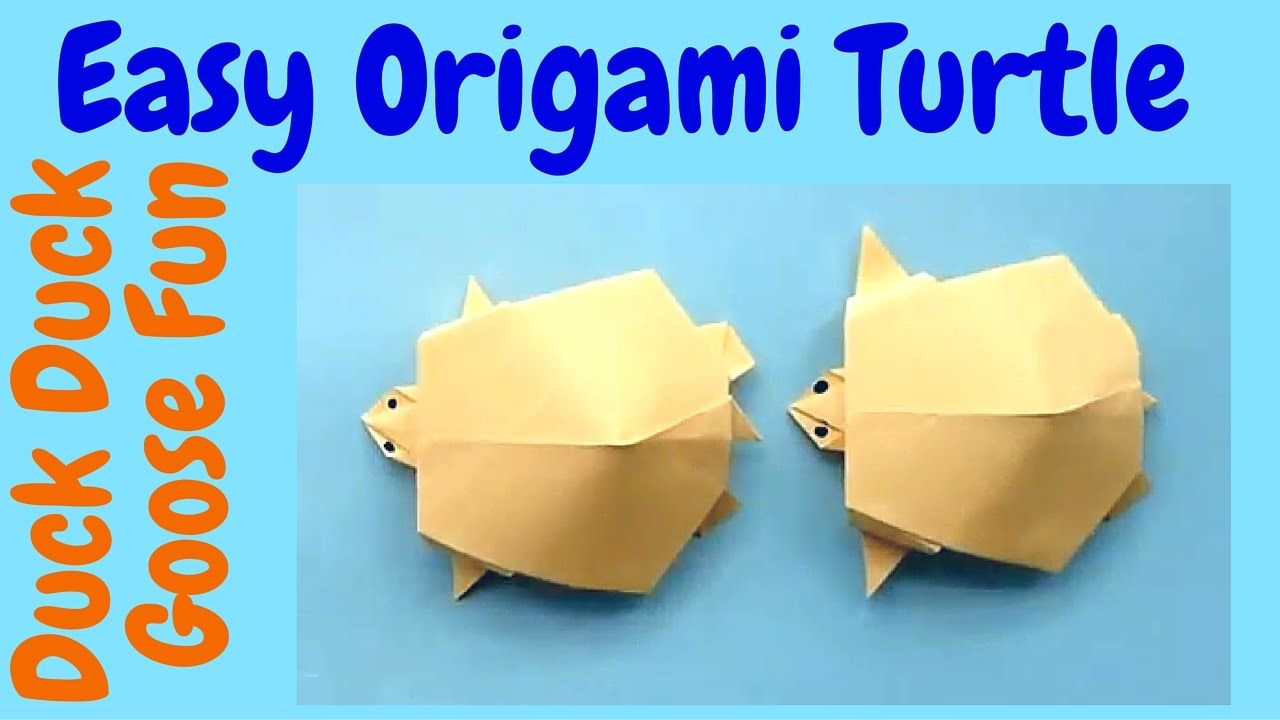 Photo of Make an Easy Origami Turtle – Origami Tutorial