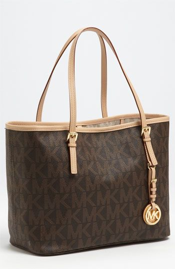 c1fb9f690bb026 MICHAEL Michael Kors 'Jet Set - Small' Logo Travel Tote available at Nordstrom  can't wait until it gets here!